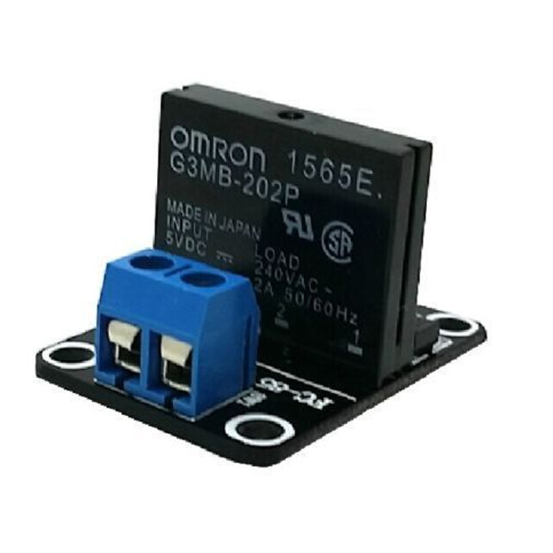 5V 1/2/4/8 Channel <font><b>OMRON</b></font> <font><b>SSR</b></font> <font><b>G3MB</b></font>-<font><b>202P</b></font> Solid State Relay Module For Arduino New LB88 image