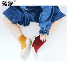 414f58b4ab8b0 Nouveau-né bébé chaussette garçons coton hiver printemps épaississement  chaussette bébé enfant en bas âge