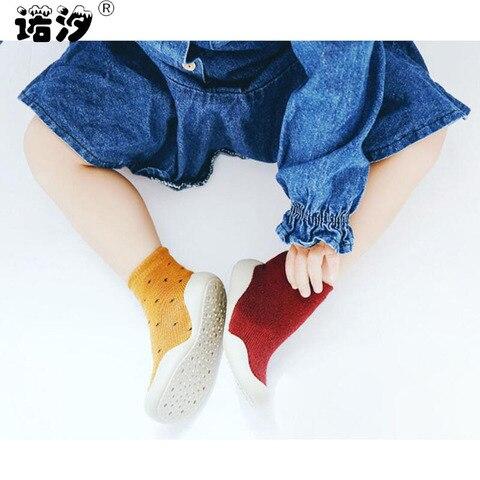 meninos meias de algodao do bebe recem nascido primavera inverno espessamento meia desgaste meias quentes