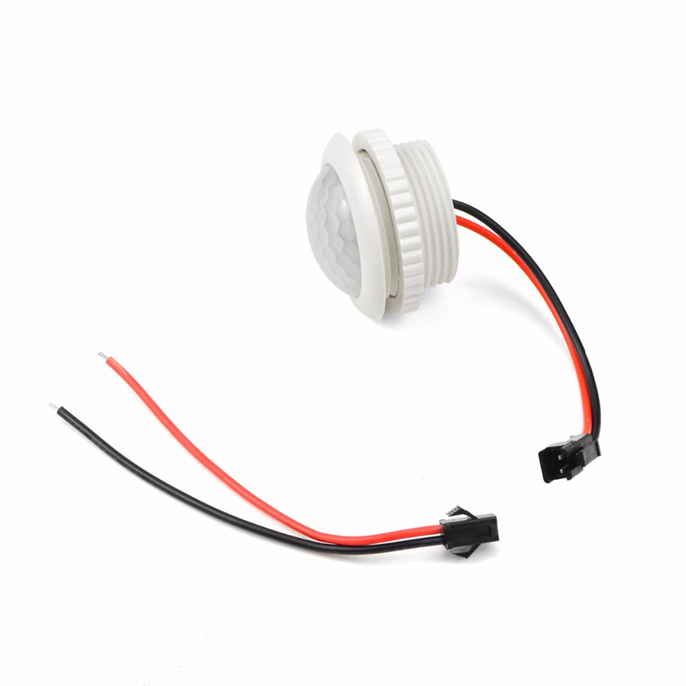 220V PIR Motion Sensor Switch ON / OFF IR Infrared Human Body Indction Sensor LED Light Control Detector Module 50HZ