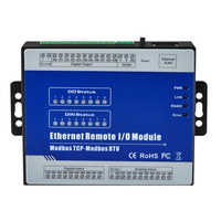 Ethernet Remote IO Module for Modbus RTU I/O devices RTU meters 8 Digital Outputs industrial automation M320T