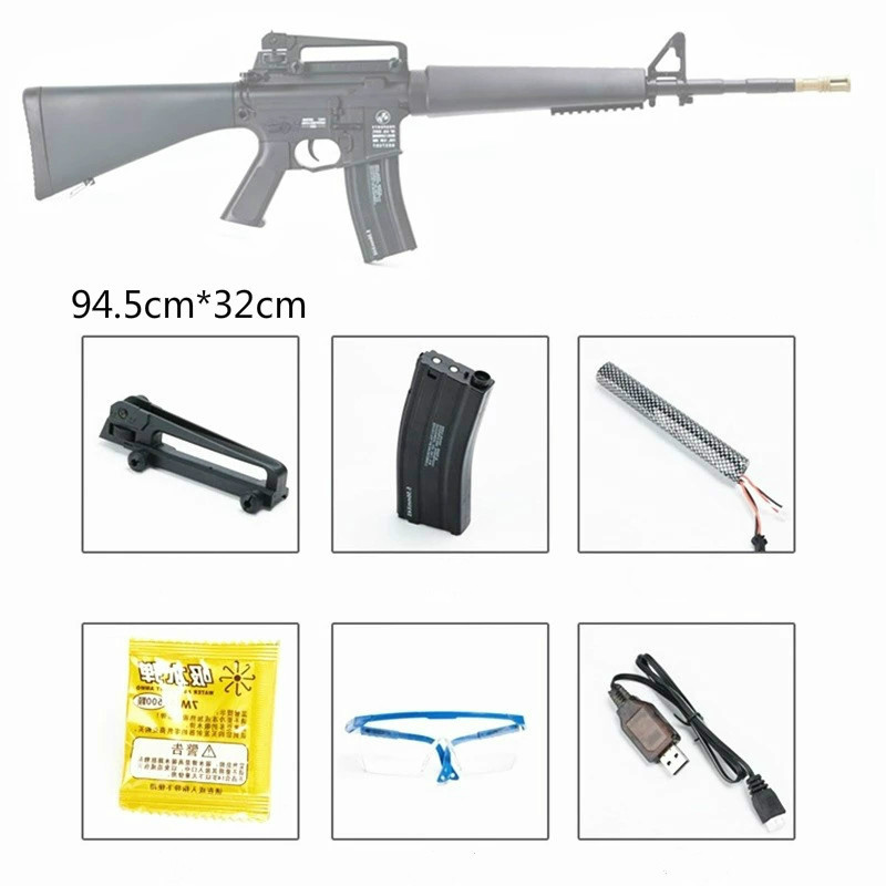 M16 Gel Blaster Water Crystal Bullets Mag fed Toy Gun Adult Size