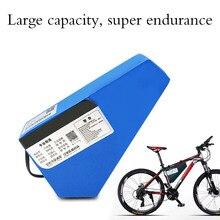 48 в 1000 Вт треугольник Электрический велосипед батарея 48 В 20Ah e велосипед литий ионный аккумулятор с 2A/3A быстрое зарядное устройство