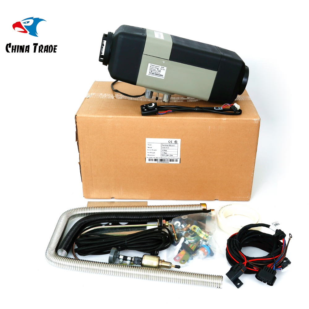 FREE Shipping Air Parking Heater 5KW 12V diesel for car camper caravan ship truck etc similar