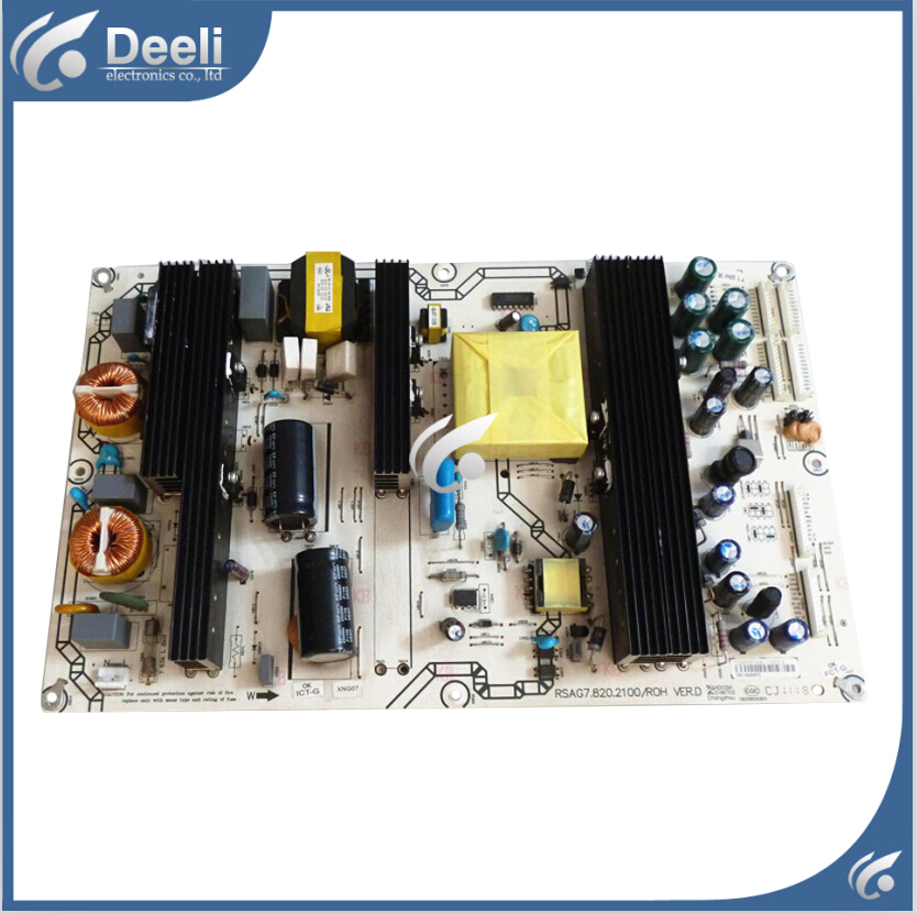 good Working original used for RSAG7.820.2100/ROH 125207: 151886 Power Supply TLM55V89PKV TLM46V66C free shipping original rsag7 820 4555 roh power panel led32k01