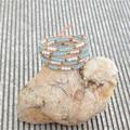 New vintage style weaving leather handmade bracelet femme mix crystal  bead handmade bracelet for women adjusted size JBN-8877