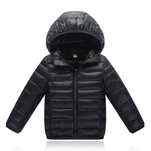 Kids Winter Jackets Children Warm Cotton Clothes Ultra Light Portable Coats Outwear Hooded Parka For Boys Girls Cute Snowsuit baby infant coats for winter warm girls and boys kids jackets coat cotton children clothing outwear 10 24m s2
