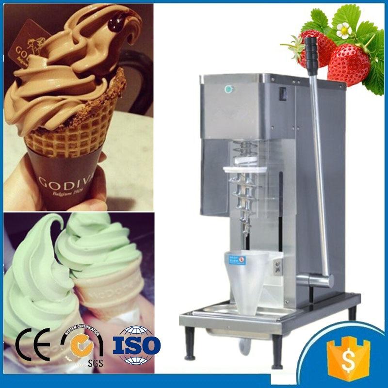Tap Water(valve) Self-cleaning Swirl Fruit Frozen Yogurt Mixer Fruit Frozen Yogurt Mixing Machine Ice Cream Shaker