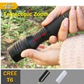 New Zoomable Lanternas LED CREE Flashlight Strong Lumen Xml T6 Led Torch Flash Light Camping Lantern SOS First Aid Flashlights