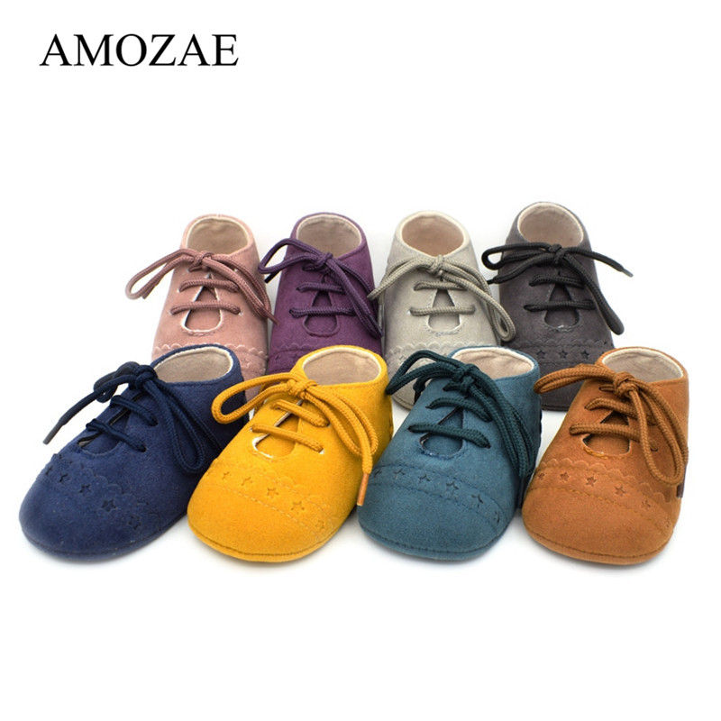 PU Leather Baby Shoes Unisex Infant Toddler Moccasins Baby Booties Kids Footwear Anti-Slip Bebes Casual First Walkers