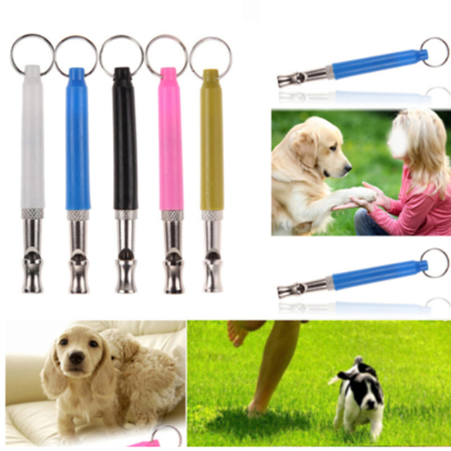 Ultrasonic Dog Repeller Pet Dog Discipline Training Adjustable Whistle Pitch Anti Bark Stop Barking Keychain Pets Tools Supplies