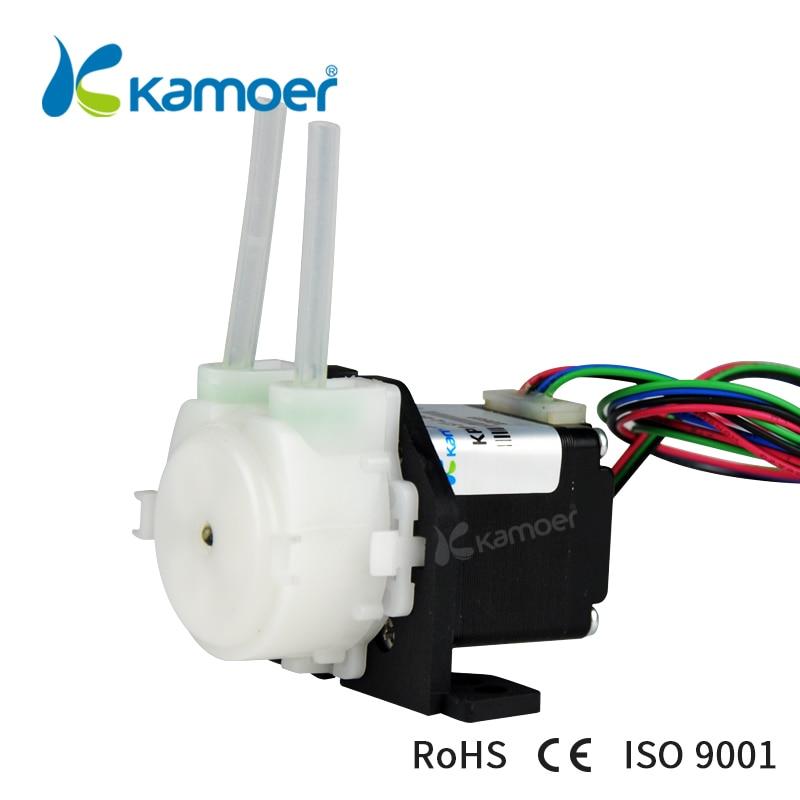 Kamoer KPP-ST перистальтический насос 12 В в/В 24 В Насос шагового двигателя (Pharmed BPT трубки, водяной насос, Arduino управление, низкая скорость потока)