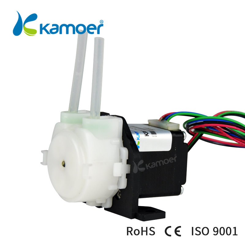 Kamoer KPP-ST bomba peristáltica 12 V/24 V Motor paso a paso (Pharmed BPT Tubing, bomba de agua, control de Arduino, bajo caudal)