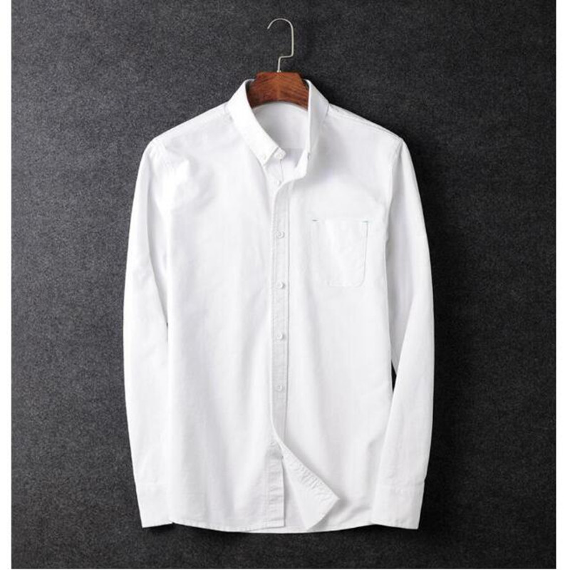 fashion style men's long-sleeved shirt winter Season business suits shirt fitted cotton blending shirt wedding groom shirt