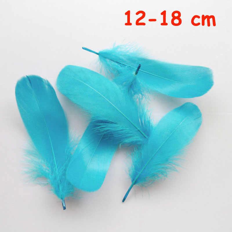 20 pièces 11 genre bleu ciel faisan queue de poulet plumes d'oie coq plumes pour fête bricolage artisanat décoration autruche plume