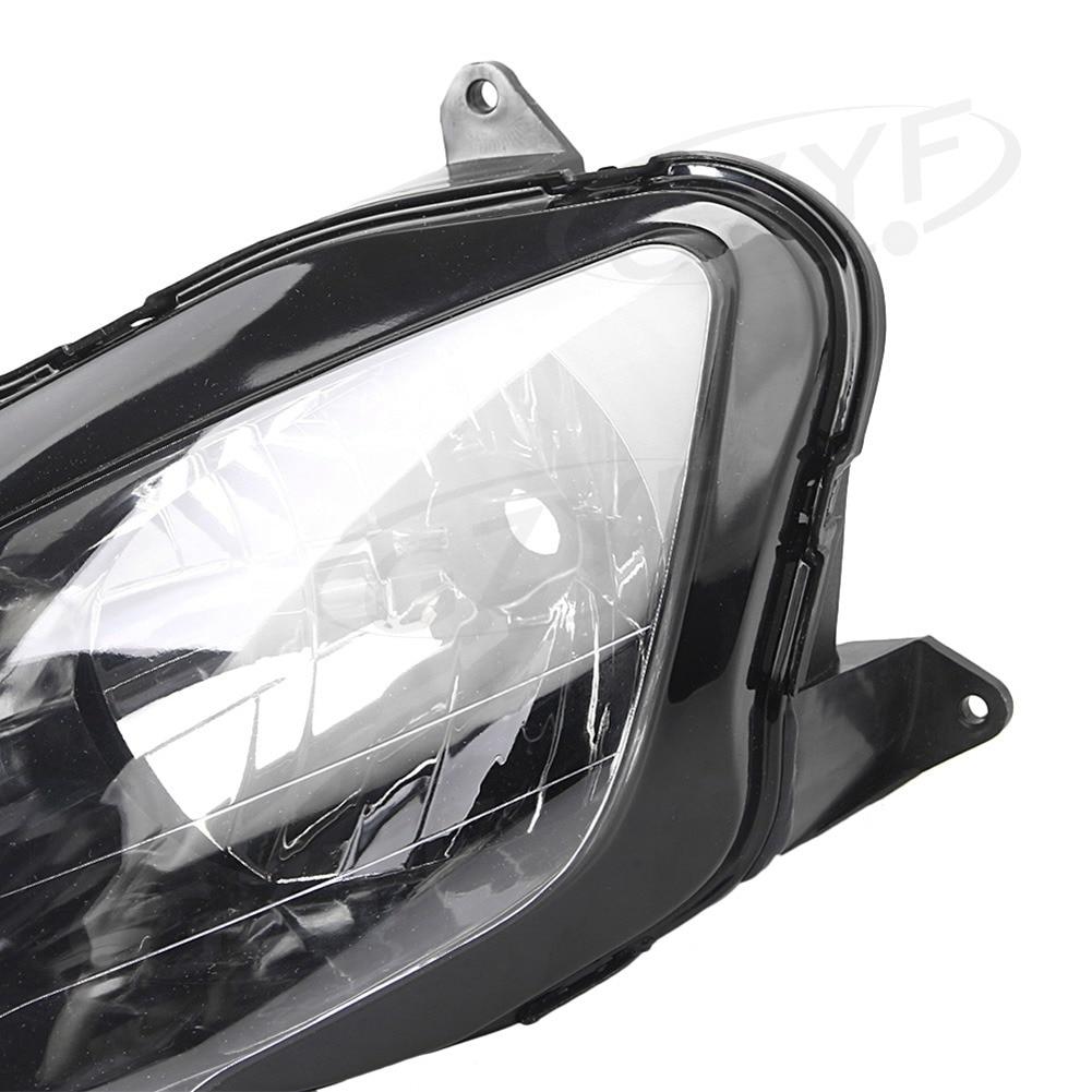 Headlight for Kawasaki Ninja ZX-9R 2000-2003 / ZX6R 2000-2002 / ZZR600/ZX600J 2000-2008, Motorcycle Head Light Lamp Assembly