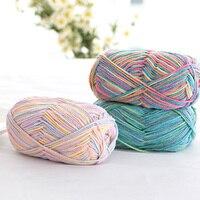 500g 10pcs Natural Soft Milk Cotton Yarn Baby Wool Yarn For Hand Knitting Yarn