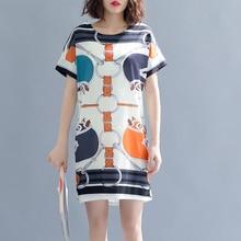 Runway Ethnic Style Print Dashiki  plus size M-3xl 4xl 5xl mini t shirt dress Oversize elbise women 2018 summer robe clothes цены