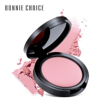 1 Pc Natural Blush Baked Cheek Face Blusher Texture Base 6 Colors Mineral Palette Makeup