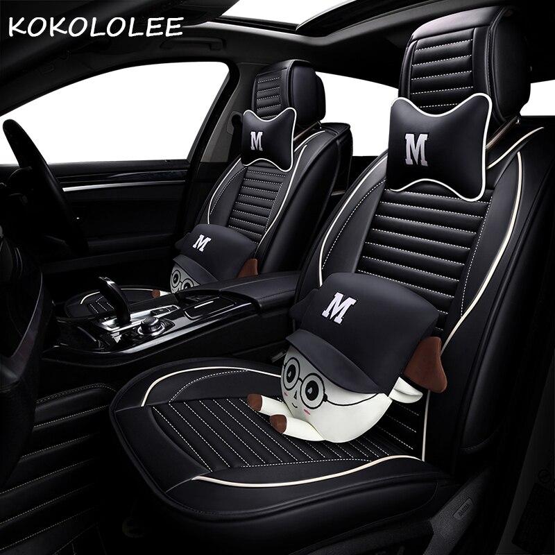 KOKOLOLEE pu auto sitz abdeckung für mazda 3/3 bk 6/6 gg/6 gh 626 cx3 cx5 cx7 demio megane 3 4 auto zubehör auto-styling