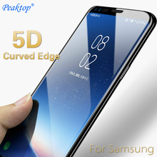 5D Curved Edge Tempered Glass For Samsung Galaxy A8 2018 J7 J5 J3 A3 A5 A7 2017