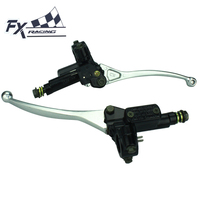 7 8 22mm Universal Motorcycle Master Cylinder Brake Clutch Lever For 50CC 250CC ATV Dirt Pit