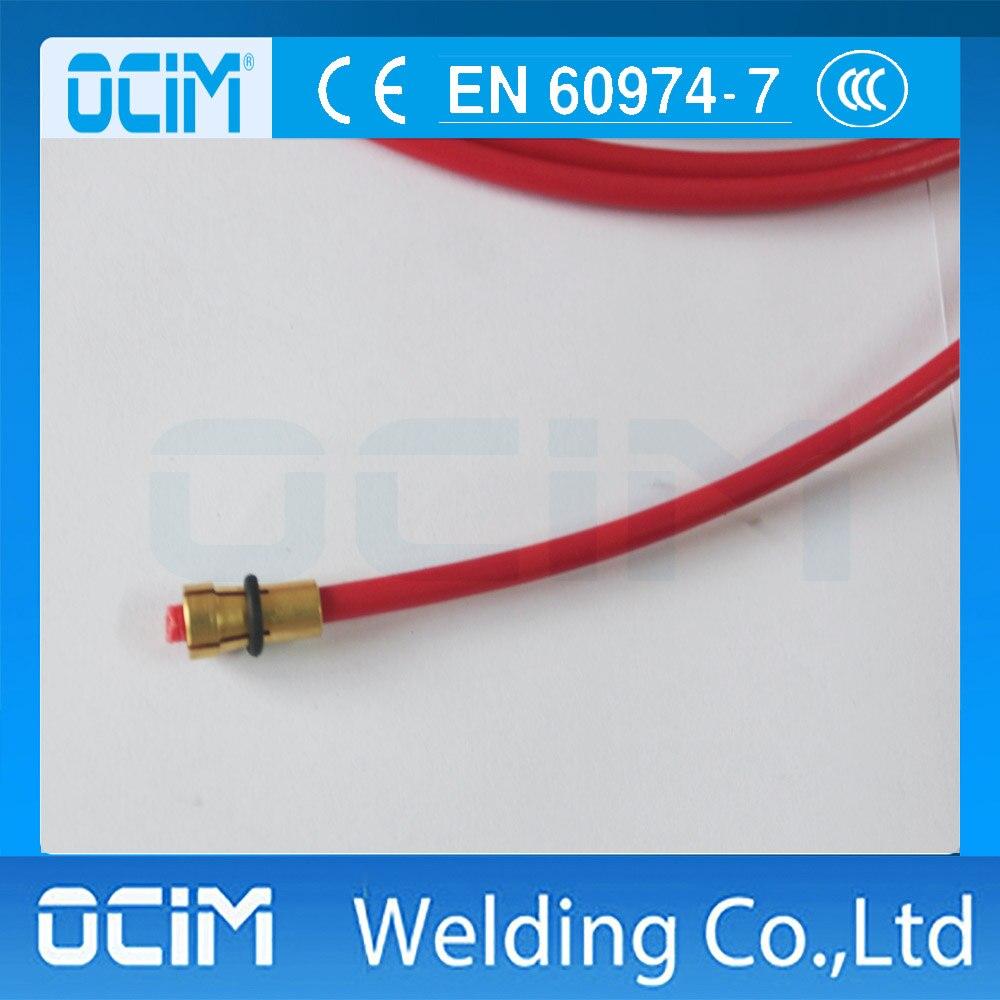 MIG MAG TEFLON Core Liner 1.0 1.2mm Welding Wire Euro Connectors 5m ...