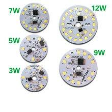 Sürücü Entegre led çip SMD 5730 Ampul 220 V 240 V Giriş Akıllı IC PCB DIY Ile Doğrudan 3 W 5 W 7 W 9 w Downlight Spot