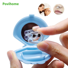1pc Quality Mini Silicone Snoring Device Stop Intoxicated Anti-snoring Prevent Snoring Sleep BetterC1457 silence anti snoring