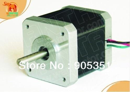 CNC Nema17 für 1.7A, 4200g. cm, 48mm länge, 2-Phases, 0,9 grad Wantai Schrittmotor