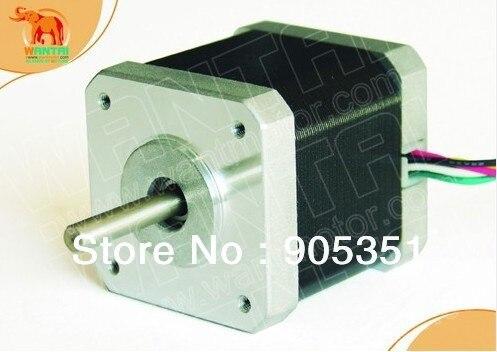 CNC Nema17 para 1.7A... 4200g cm 48mm longitud 2-fases de 0,9 grados Wantai Motor paso a paso