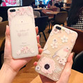 New pattern Flowers Transparent soft cases for iPhone 6 6s 6plus 6s plus for iPhone 7 7plus Anti-drop cover for women phone bags