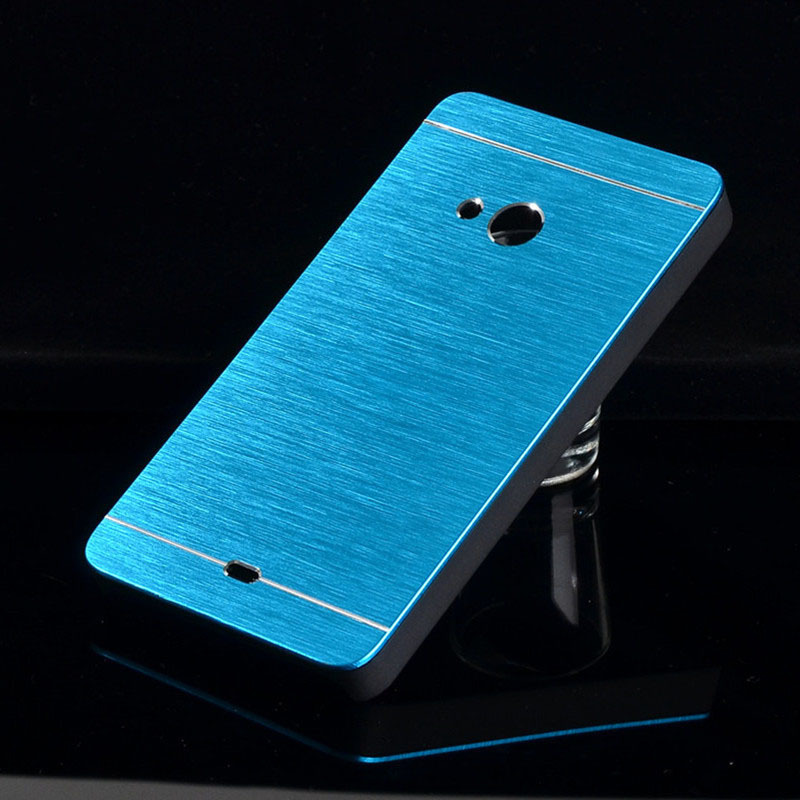 pretty nice 13fd5 72d7a US $1.95 |For Nokia Lumia 535 N535 Case FashionHigh quality Hard Aluminum  Metal + Plastic Phone Cases Back Cover B568 A on Aliexpress.com | Alibaba  ...