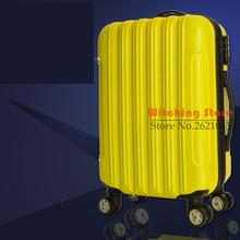 20 INCH 2024# Foreign trade bags processing a suitcase  universal wheel ABS children trolley #EC FREE SHIPPING