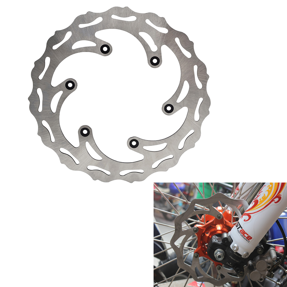 Front Wavy Brake Disc Rotor For Husaberg Fe Te Fx 125 570