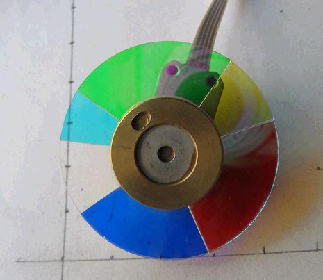 Good Quatily & New For ACER X1160p X1160 X1160PA X1203 DLP Projector Color Wheel projector color wheel for acer x1237 x1110