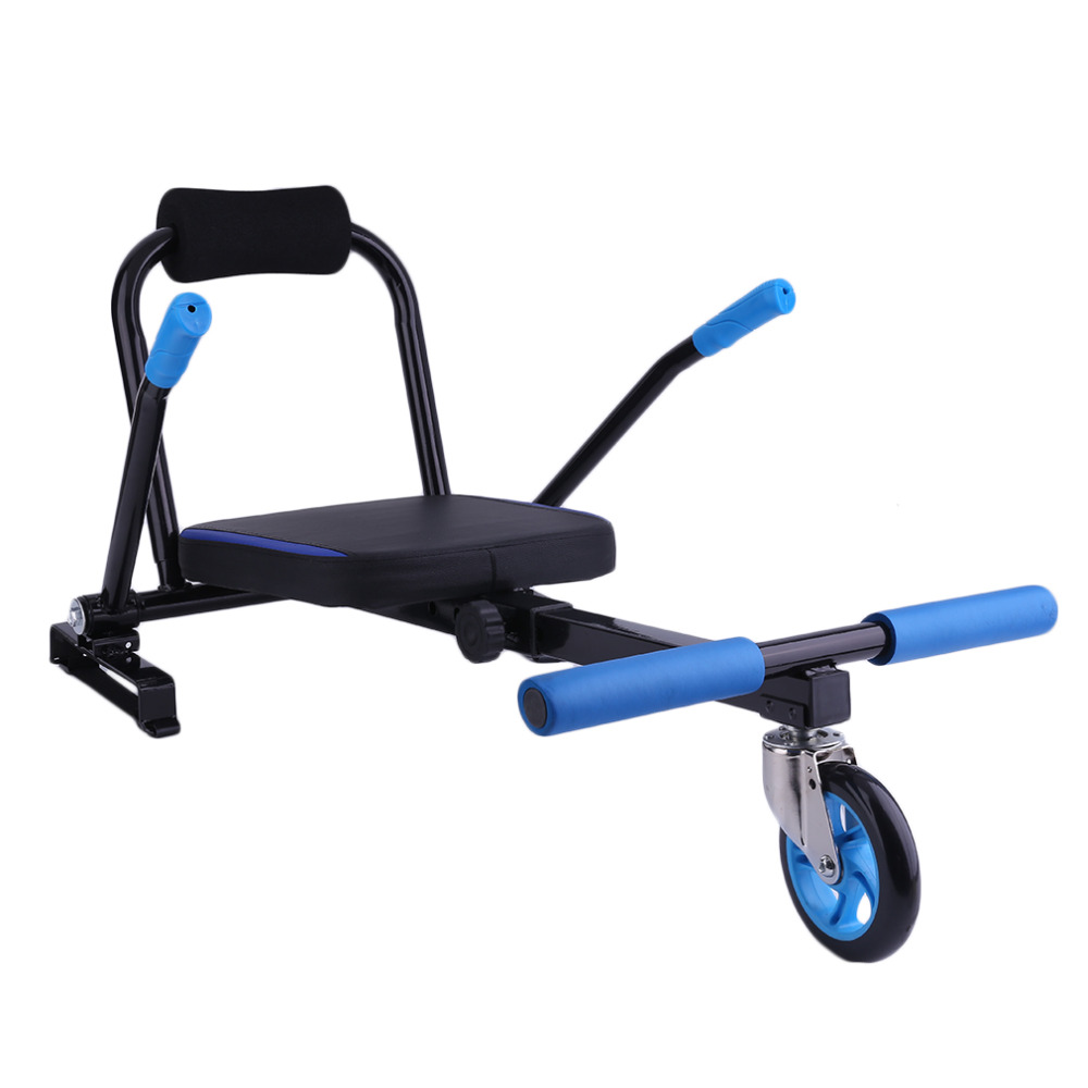 цена на Creative Kart Style Hoverboard Kart 2 Wheel Electric Scooters Kart Seat Smart Balance Hoverboard Go Carting Accessories NEW