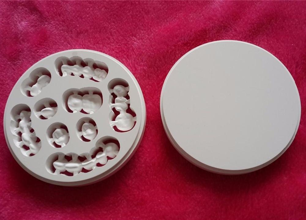 Dental Zirconia CAD CAM Block Super Translcuent for zirconia dental crown/Dental lab material 100x18mm dentmill dental zirconia cad cam bloc for coping