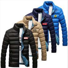 SUPZXU Winter Jacket Mens Cotton Blend Parkas Male Casual Thick Outwear Windbreaker Jackets Casaco Masculino 4XL,TA216