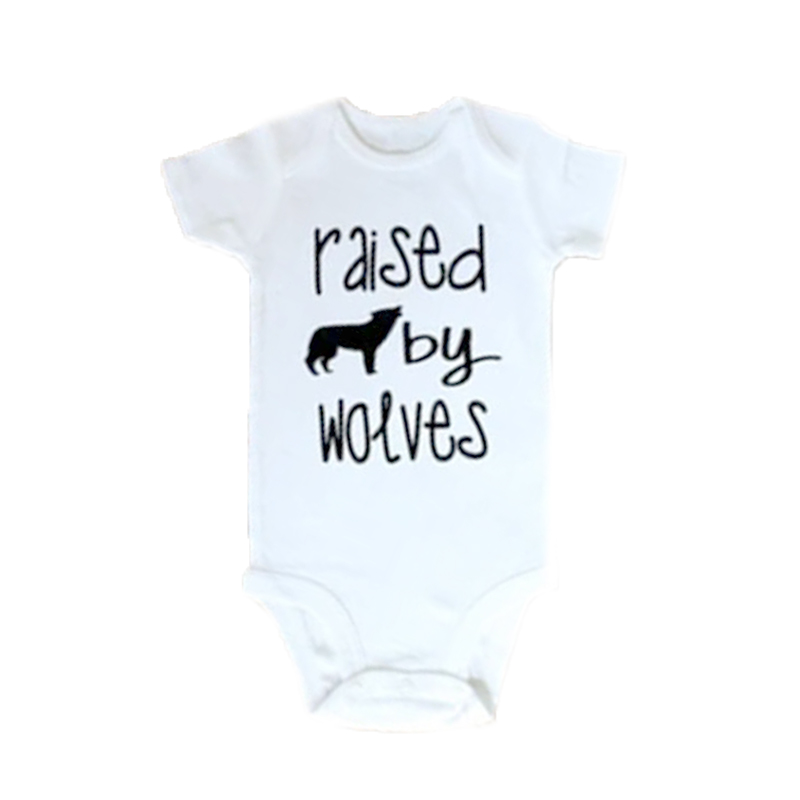 YSCULBUTOL Raised By Wolves Toddler Shirt Gender Neutral Baby Gift Clothing