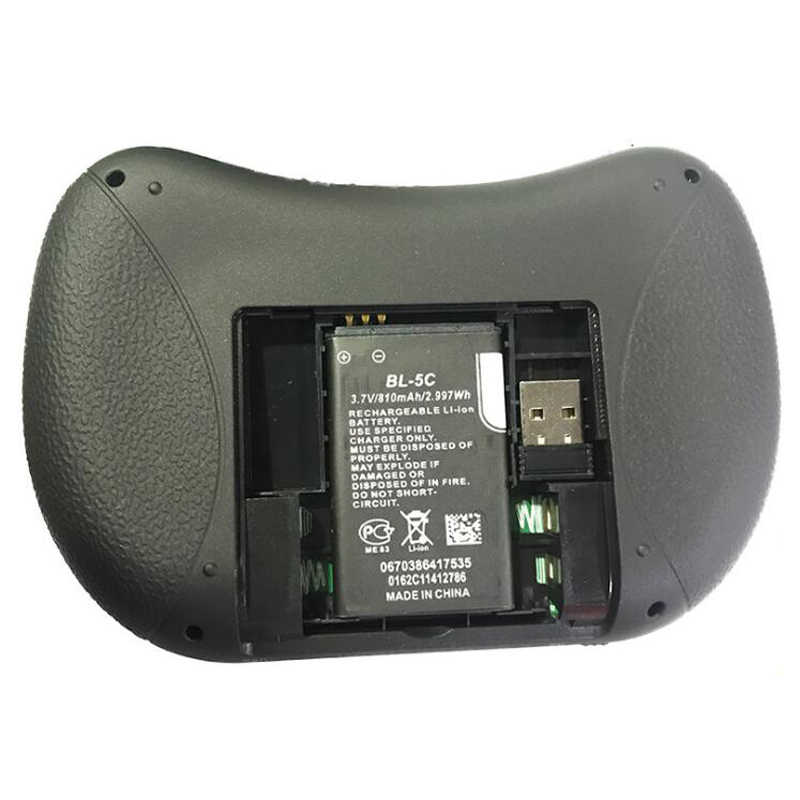 I8 ミニワイヤレスキーボード 7 色バックライトエアマウス用タッチパッドハンドヘルド Google の Android テレビボックス Xbox Pc ゲーマースマートテレビ HTPC
