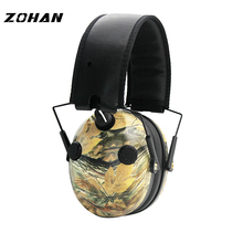 ZOHAN Electronic Earmuff NRR23DB FourMicrophone Tactical Headset For Hunting Noise Reduction Shooting Hearing Protection