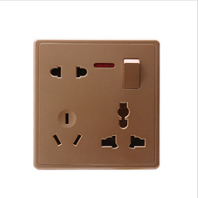 220V10A US AU Plug Power Point Wall Socket Charger Receptacle Outlet Panel Universal With independent switch  недорго, оригинальная цена