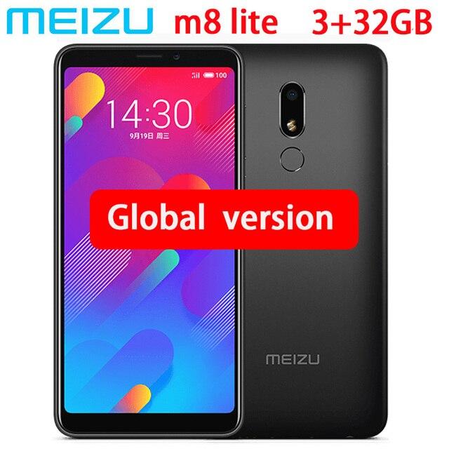 מקורי Meizu M8 לייט 4G LTE 3 GB 32 GB MTK6739 Quad Core טלפון נייד 5.7 אינץ HD IPS מסך ה-sim הכפול טלפון סלולרי