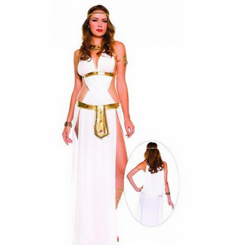 New Costume For Greek goddess Adult Women Halloween Carnival Christmas  Cosplay Costumes Fancy Dress Party Arab