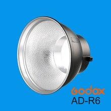 Godox Bowens Refletor AD R6 Padrão Mount w/Buraco Guarda chuva para AD600B AD600BM