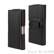 New Smooth pattern/Lichee Pattern PU Leather Phone Belt Clip For Nokia 108/108 Dual SIM