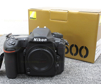 Nikon D500 DSLR Camera 20.9MP DX Format 4K UHD Video 3.2 Tilting Touchscreen LCD 153 Poin AF System Wi F