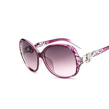 2016 Summer Style Oval Sunglasses Women Luxury Sun Glasses Female Vintage Brand Designer Eyeglasses Oculos De Sol 2