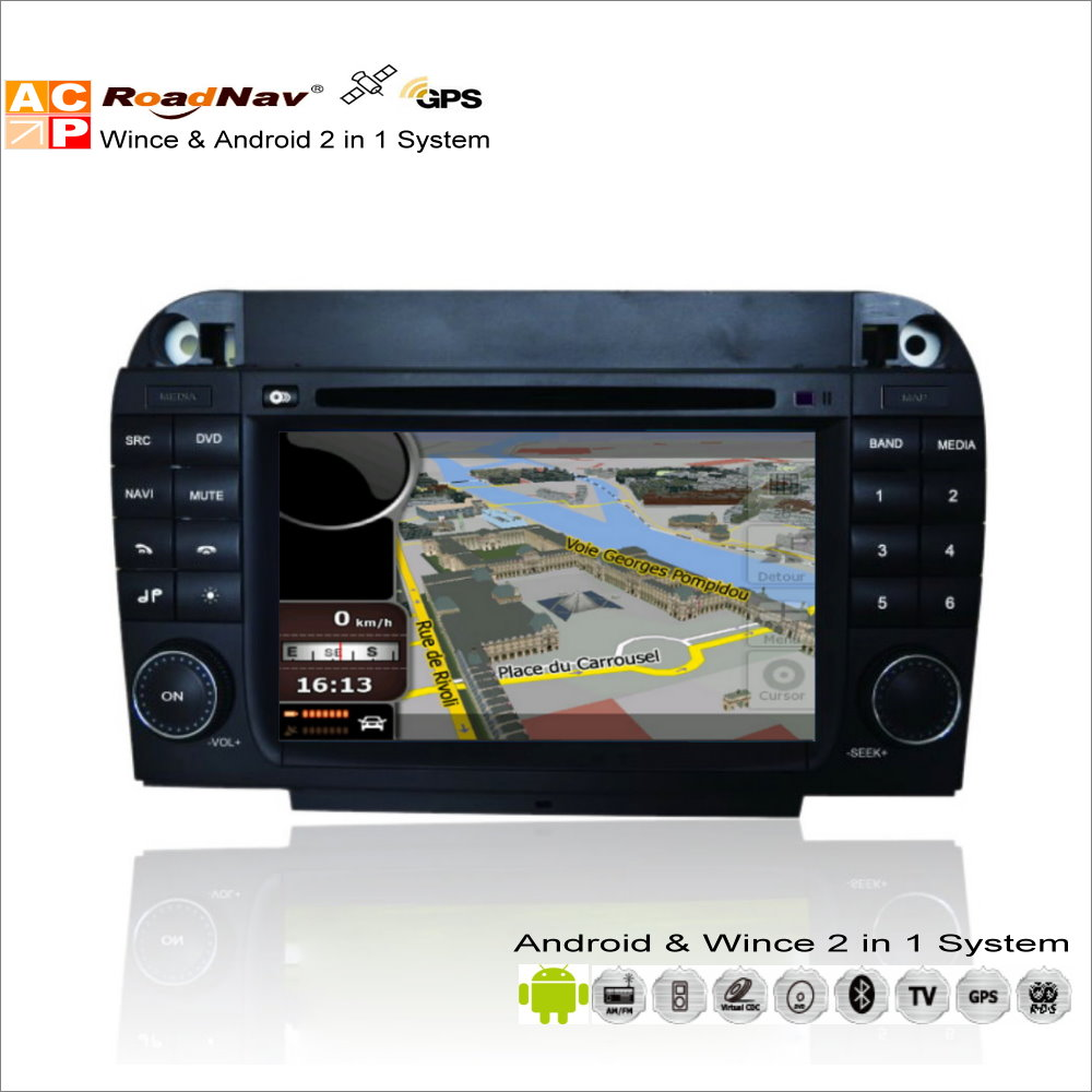 Android Car Multimedia Stereo Para Mercedes Benz Clase CL W215/Clase S W220-Radi